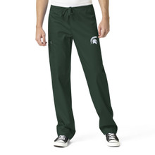 Michigan State University- Spartans Men's Cargo Scrub Pants