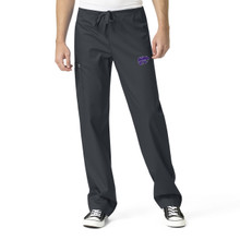Kansas State University Wildcats Men's Cargo Scrub Pants*