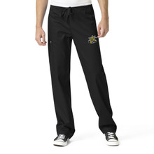 Wichita State University- Shockers Black Men's Cargo Scrub Pants