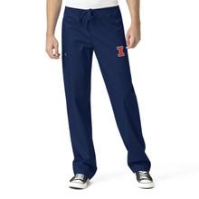 University of Illinois Fighting Illini Men's Cargo Scrub Pants(6 Piece Illini Minimum)
