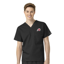 University of Utah- Utes Men's V Neck Scrub Top*