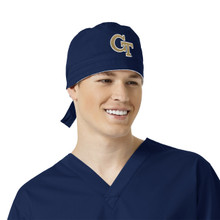 Georgia Tech Yellow Jackets Scrub Cap for Men