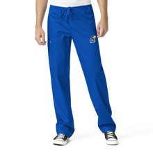 University of Kansas Jayhawks Men's Royal Cargo Scrub Pants