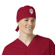 Indiana Hoosiers Cardinal Scrub Cap for Men
