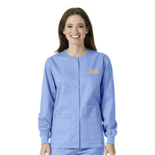 UCLA- Bruins Ciel Warm Up Nursing Scrub Jacket