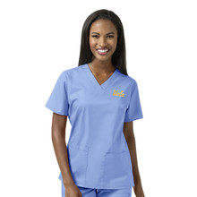 UCLA- Bruins Ciel Women's V Neck Scrub Top