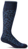 Sockwell Women's Damask Moderate Compression Knee High Sock (15 - 20 mmHg)*