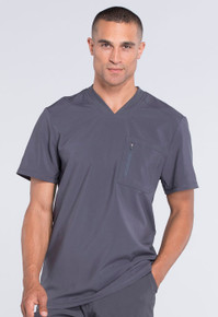Infinity for MEN : Antimicrobial Protection V Neck Scrub Top for Men*