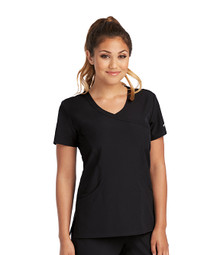 Skechers Women's Reliance Mock Wrap Solid Scrub Top*