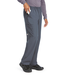 Skechers Men's Structure Elastic Waistband Zip Fly Scrub Pant*
