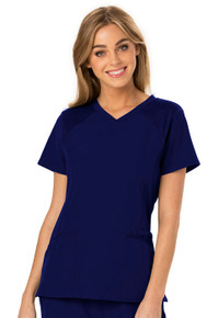Heartsoul Break On Through Collection : Love 2 Love U V Neck Scrub Top For Women*