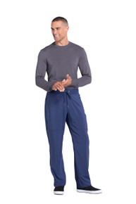 Infinity for MEN : Drawstring Antimicrobial Protection Fly Front Athletic Scrub Pants for Men*