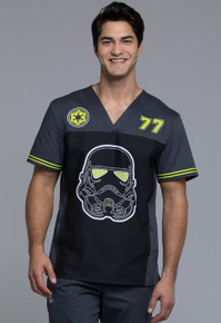Star Wars Strom Trooper #77 V Neck Scrub Top