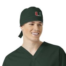 University of Miami Hurricanes Scrub Cap for Men*