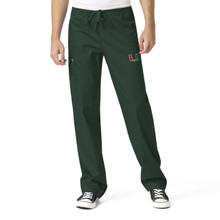University of Miami Hurricanes Men's Cargo Scrub Pants