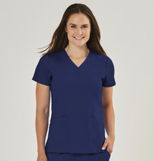 Edge by IRG : Women's V Neck Scrub Top style 2801*
