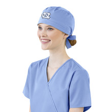 University of North Carolina Tar Heels Scrub Cap for Women