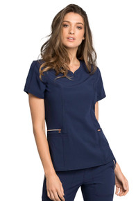 Statement V Neck Women's Scrub Top*
