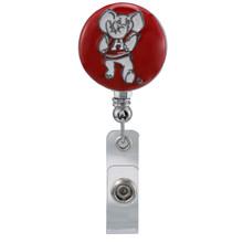 University of Alabama Retractable Badge Reel - Licensed University of Alabama Badge Reel
