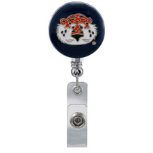Auburn Retractable Badge Reel - Licensed Auburn Badge Reel