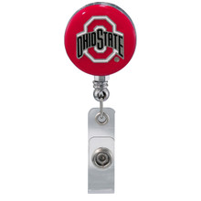 Ohio State Buckeyes Retractable Badge Reel - Licensed Ohio State Badge Reel