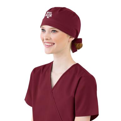 Texas A&M Scrub Cap for Women