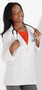 Meta Labwear : Women's Lab Coat 824 in White