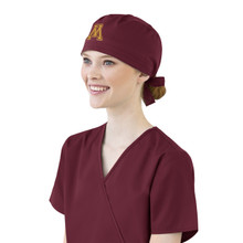 Minnesota Golden Gophers Maroon Scrub Cap for Women