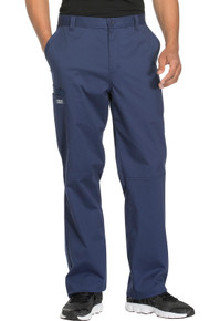 Cherokee Core Stretch Men's tapered leg fly front scrub pant*