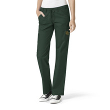 Baylor Bears Women's Straight Leg Cargo Scrub Pants*