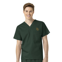 Baylor Bears Men's V Neck Scrub Top*