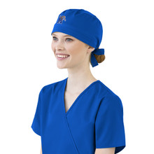 Memphis Tigers Royal Scrub Cap for Women