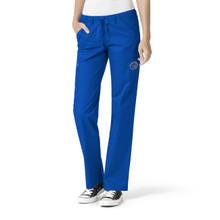 Boise State Women's Straight Leg Cargo Scrub Pants