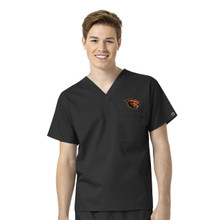 Oregon State Beavers Men's V Neck Scrub Top*