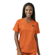 Oregon State Beavers Women's V Neck Scrub Top*