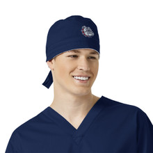 Gonzaga Navy Scrub Cap for Men