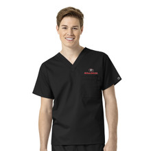 Georgia Bulldogs Men's V Neck Scrub Top*