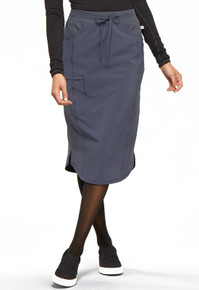 Infinity Antimicrobial Drawstring  Nurses Skirt*