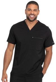 Dickies Balance : Men's V Neck Scrub Top with Sleeve Zip Pocket*