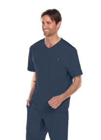 Barco ONE Wellness Antimicrobial: Men's V Neck Scrub Top*