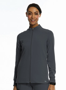 Elite style 3811 Women's zip front scrub jacket*