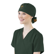 Notre Dame Fighting Irish Shamrock Scrub Cap for Women