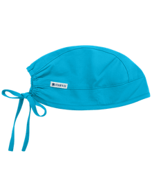 Adjustable Cyan Blue Colored Scrub Cap - In Stock!