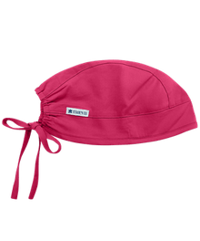 Adjustable Raspberry Colored Scrub Cap - In Stock!