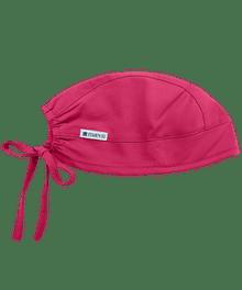 Adjustable Raspberry Colored Scrub Cap - In Stock!