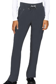 Med Couture Insight Women's Zipper Straight Leg  Scrub Pant Available Jan 2021*