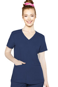Med Couture Insight Women's V-Neck Scrub Top style 2411*