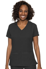 Med Couture Insight Women's V-Neck Side Pocket Scrub Top Available Jan 2021*