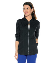 Aspire by Urbane Style 9220 : Women's Zip Front Scrub Jacket*