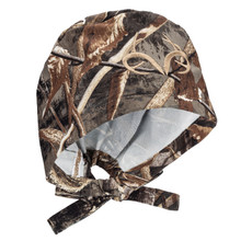 Realtree Camo Scrub Hat Officially Licensed with embroidered Antler logo